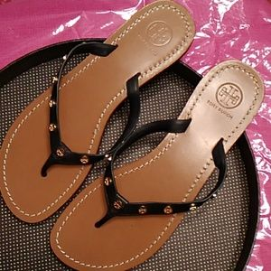 Tory Burch Shoes - Tory Burch Leather Sandals